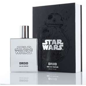 Unlucky in love? C-3P0 giving you the cold shoulder? Metal Micky ignoring you? You need Droid Eau De Parfum £8.75 at Boots