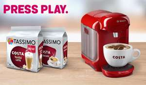 Tassimo Costa Americano (x10) Packs £29.92 with voucher at Tassimo