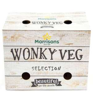 Wonky Veg & Fruit individual pack and selection Box from 35p online and inStore at Morrisons