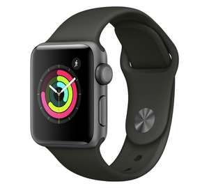 Apple Watch S3 42mm - Space Grey Aluminium / Grey Band £329 and 38mm at £299 at Argos