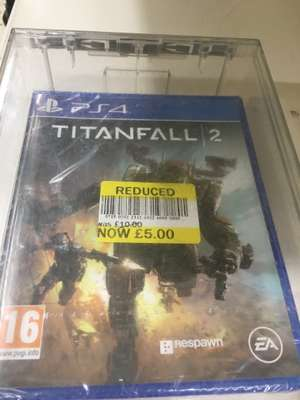 Titanfall 2 PS4 - £5 at Tesco instore
