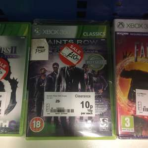 Saints row the third xbox360 10p at Asda instore
