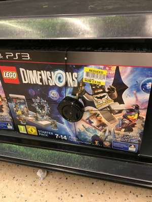 Lego Dimensions PS3 Starter Pack reduced to £3.56 instore @ Tesco Kingston Park