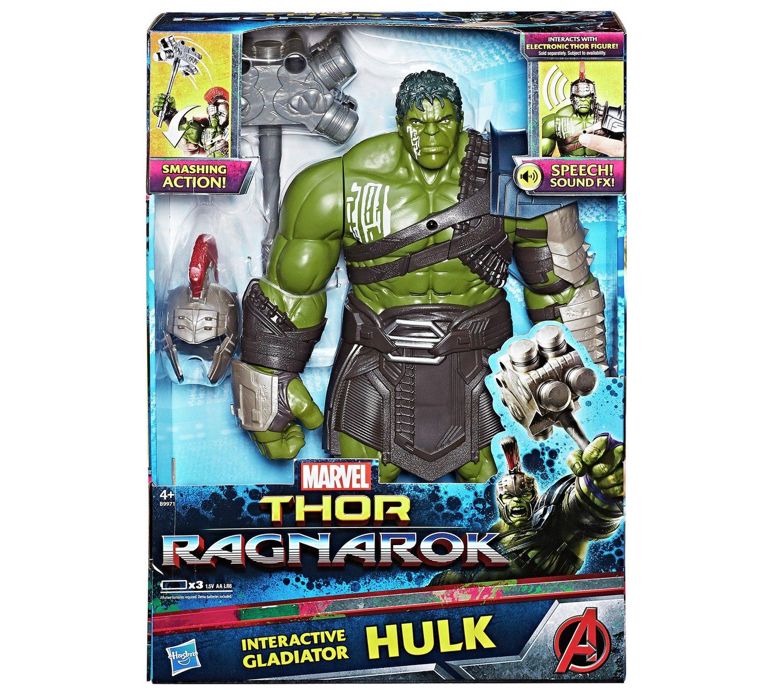 "Thor Ragnorok - 12"" Interactive Gladiator Hulk Figure £15 instore (B&M)"