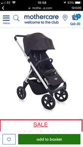 Mini easywalker stroller was £430 now £60 @ mothercare