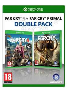 Far Cry Primal and Far Cry 4 Double Pack (Xbox One) £19.99 at Amazon sold by Base
