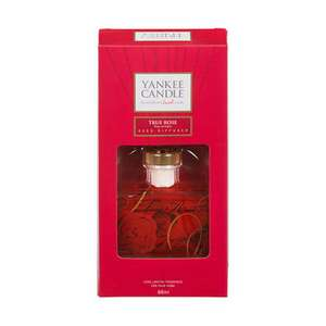Yankee Candle True Rose Reed Diffuser £9.76 at Amazon (Prime/£12.75 non Prime)