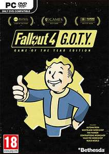 Fallout 4 Game of the Year Edition for PC £15.99 @ Game