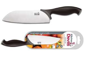 Kitchen Devils Small Asian Cook's Knife  £4 instore at Asda