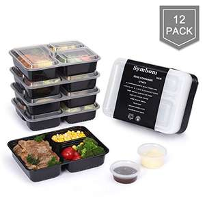 For your New Year healthy eating meal plan (code for 50% off) Sold by Symbom and Fulfilled by Amazon £8.99 Prime (£12.98 non Prime)