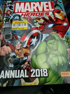 Various 2018 Annuals now 10p at Tesco upper boat pontypridd