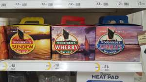 Woodfordes real ale kits, Wilko - £18 instore @ Sittingbourne, lots of stock