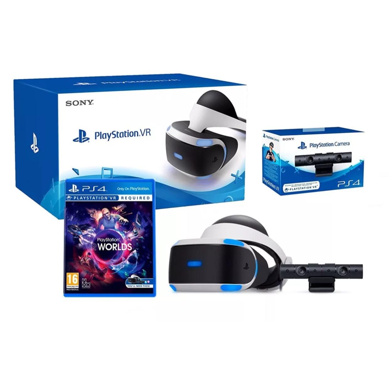 PS VR + camera V2 + VR worlds £229.99 & other bundles @ ebay via evergame UK
