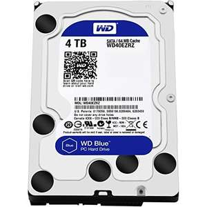 WD 4 TB Desktop Hard Drive - Blue for £87.97 @ Amazon
