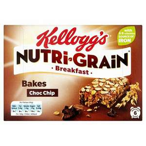 Kellogs nutri grain breakfast Bakes normal price £2:29 just £1 instore at Poundland