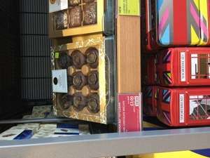 Dark chocolate biscuits reduce to clear £3 at Marks and Spencer