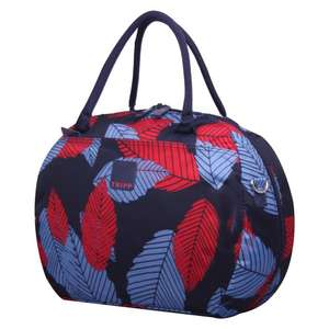 Tripp - Denim blue poppy 'Leaf ' holdall (was £50) Now £11.00 delivered at Debenhams