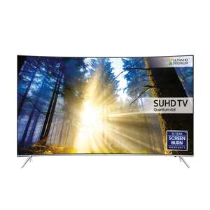 "Samsung UE49KS7500 Curved SUHD HDR 1,000 4K Ultra HD Quantum Dot Smart TV, 49"" with Freeview HD/Freesat HD & Branch Feet Design, UHD Premium £224.75 @ JOHN LEWIS"
