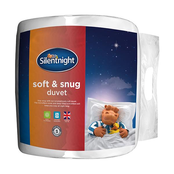 Silentnight Soft & Snug 13.5 Tog Duvet Kingsize Sainsburys on Clearance for £13.20