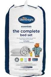 SILENTNIGHT COMPLETE BED SET 10.5TOG single £16/double £20/king £24 was £40/50/60 @ Bhs (£3.50 del)