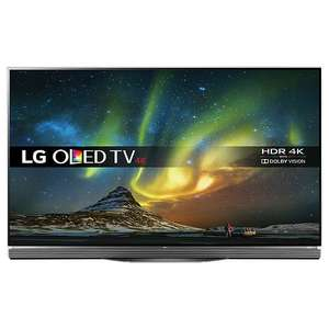 "LG OLED55E6V OLED HDR 4K Ultra HD 3D Smart TV, 55"" with Freeview HD/Freesat HD, Harman / Kardon Soundbar Stand, Picture-On-Glass Design & 2 x 3D Glasses, UHD Premium @ John Lewis (Online) for £699.50"
