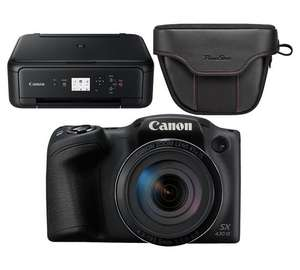 Canon Powershot SX430 Bridge Camera + free case and printer £189 @ Argos