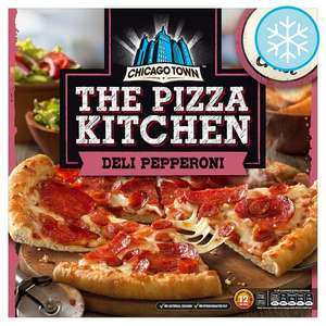 Chicago town the pizza kitchen pizza's half £1.50 price tesco in store.
