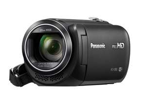 From Ebay: Refurbished with a 12 month guarantee Panasonic Full HD Camcorder £129.99 Sold by Panasonic