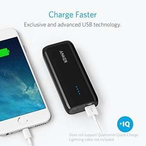 Anker Astro E1 6700mAh [Upgraded Capacity] £10.19 prime / £14.18 non prime Sold by AnkerDirect and Fulfilled by Amazon - Lightning Deal