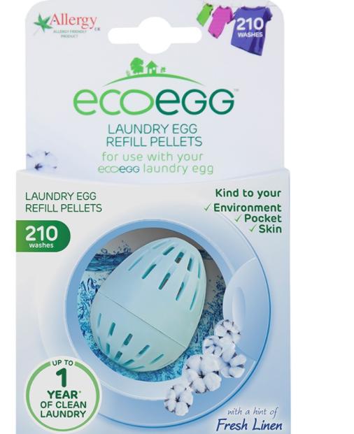 Ecoegg 210-Wash Fresh Linen Laundry Egg Refill £5.49 @ robert dyas - free c&c