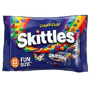 Skittles Darkside X 11 Funsize bags  (Pack of 12, total 2.37 kg) £6.75 prime / £11.50 non prime @ Amazon
