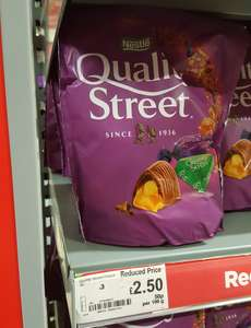 Quality Street 500g Pouch £2.50 Asda instore