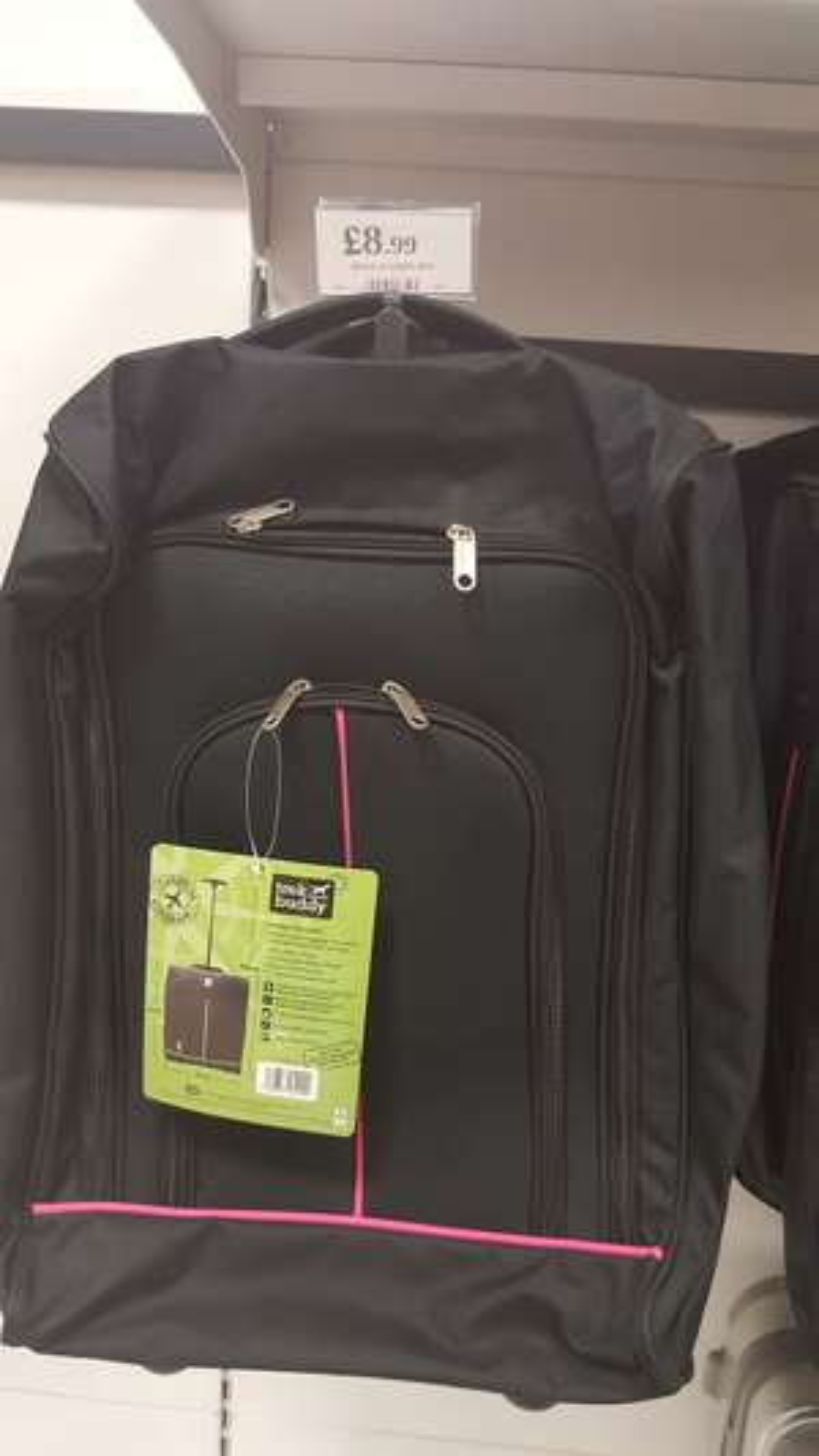 Trek Buddy Cabin Luggage £8.99 @ Home bargains