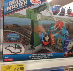 Thomas Trackmaster 'Demolition at the Docks' set - £12.50 instore @ Asda Living (Gateshead)