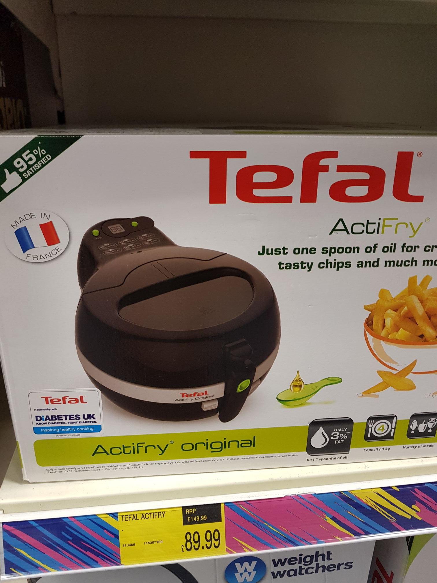 Tefal Actifry Original 1kg version instore B and M (Didcot) - £89.99