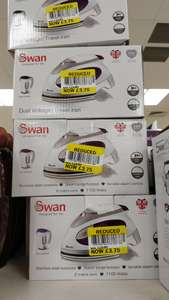 Swan 1100w Travel iron. Was £15 now £3.75 - Instore @ Tesco (Reading)