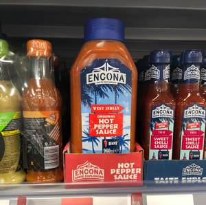 960ml Encona Hot Pepper Sauce for £3.29 @ Iceland