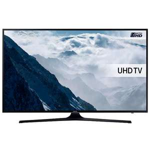 "Samsung UE55KU6000 HDR 4K Ultra HD Smart TV, 55"" with Freeview HD & PurColour £149.75 John Lewis"
