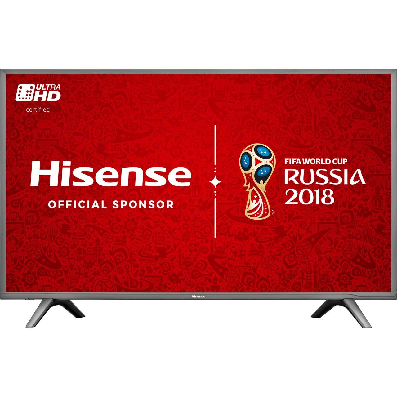 """Hisense H55N5700 55"""" Smart 4K Ultra HD with HDR TV - Grey £444 at ao.com"""