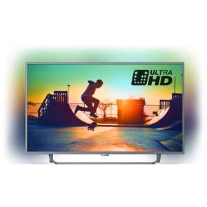 """Philips TV 55PUS6272/05 55"""" Freeview HD and Freeview Play Smart Ambilight 4K Ultra HD with HDR TV - Dark Silver £454 - ao.com"""
