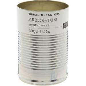 "Urban Olfactory ""Arboretum"" candle Tk Maxx £12.99 (+ £1.99 c&c or £3.99 delivery)"