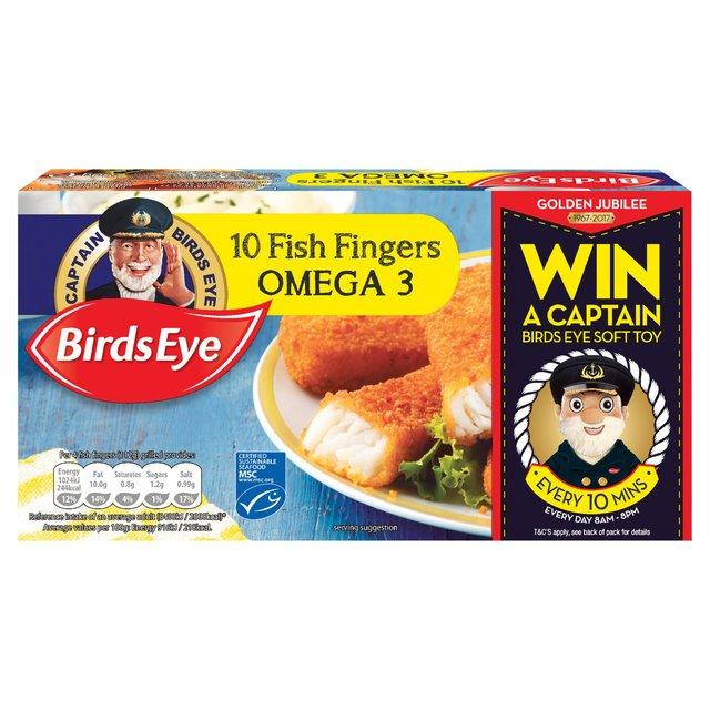 10 Birds Eye  Omega 3 Fish Fingers 280g £1 @ Morrisons