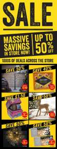 50% off in store at Bargain Buys - Newtownabbey store (Northern Ireland)