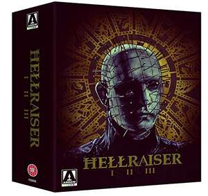 Hellraiser Trilogy Blu-Ray – Amazon – £12.99 (Prime) / £14.98 (non Prime)
