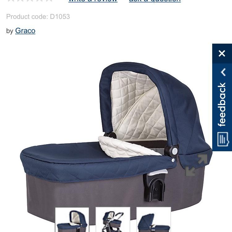 Graco Evo CarryCot £5 @  Mothercare (free c&c)