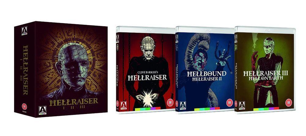 Hellraiser Trilogy Blu-Ray £12.99 The Entertainment Store Ebay