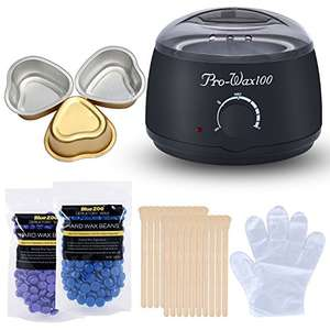 Kapmore Hair Removal Electric Wax Heater w/ coupon P2I6OSAR £12.99 Prime/ £17.74 Non Prime Sold by Kapmore and Fulfilled by Amazon