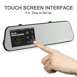 AUTO-VOX M6 4.5'' IPS Touch Screen 1080P Mirror Dash Cam £73.09 Sold by Icarmore and Fulfilled by Amazon