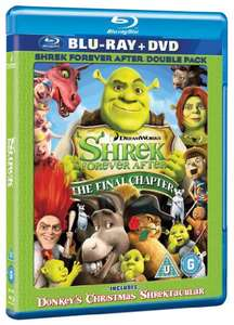 Shrek: Forever After - The Final Chapter [Blu-ray] £1.19 (Prime) / £3.18 (non Prime) Sold by Cliky and Fulfilled by Amazon.