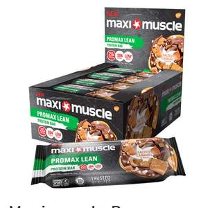 Maximuscle protein bars £12 at maxinutrition